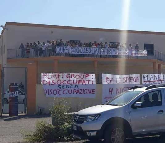 call center Gallipoli proteste
